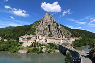Sisteron, pont sur la Durance