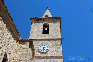 Saint Etienne les Orgues, bell tower