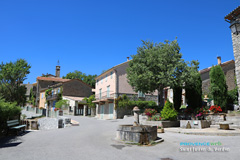 Saint Julien du Verdon, place