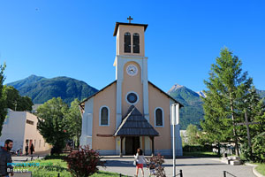 Briancon, church