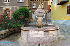 Briancon, fountain