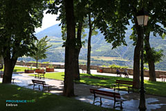 Embrun, garden of the Archbishop's palace
