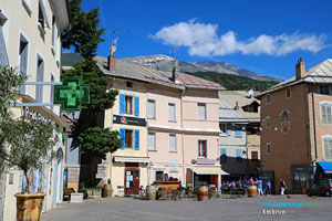 Embrun, the main square