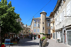 Embrun, small square