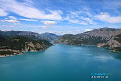 Lac Serre Poncon : Serre ponçon le lac a ans côte d azur nice matin