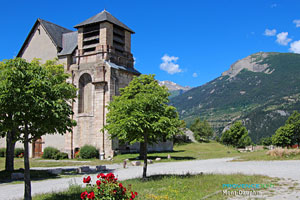 Mont-Dauphin, church