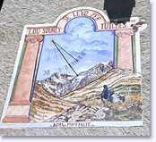 Saint Veran, sundial. Click to enlarge.