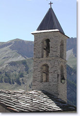 Saint Veran, belltower