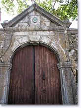 Saint Leger les Melezes, old door