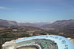 Upaix, viewpoint