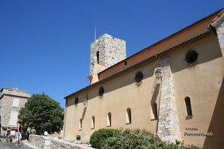 Antibes - Church