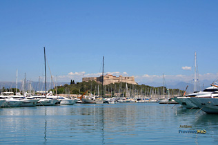 Antibes - Marina and Fort