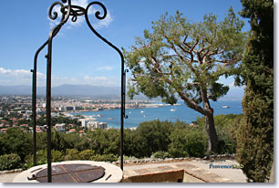 Antibes - The bay