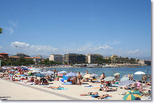Antibes Juan les Pins - Beach