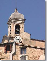 Berre les Alpes, bell tower