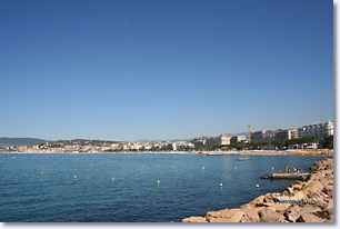 Cannes - The bay