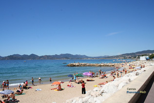 Cannes, plage