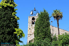 Chateauneuf de Grasse - bell tower