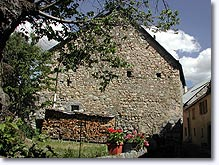 Chateauneuf d'Entraunes, house