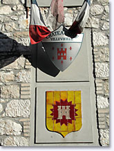 Chateauneuf Villevieille - Coat of arms