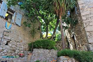 Eze, the old village