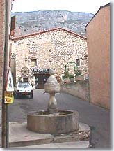 Greolieres, fountain