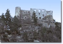Guillaumes, ruins of the castle