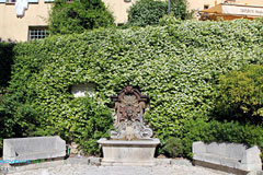 Mougins, fountain