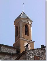 Peillon, bell tower