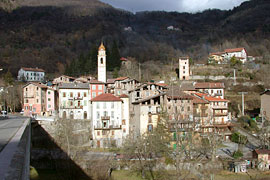 Roquebilliere, the village