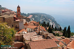 Roquebrune Cap Martin, bell-tower and oldvillage