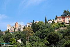 Roquebrune Cap Martin, the old village