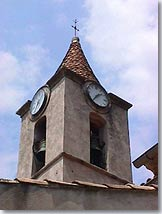 Sainte Agnes, bell-tower