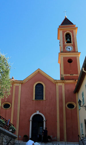 Saint Jean Cap Ferrat, church