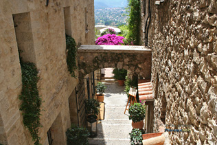 Saint Paul de Vence - Vue