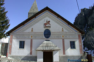 Saint Dalmas le Selvage, church
