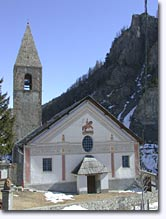 Saint Dalmas le Selvage, church and bell-tower
