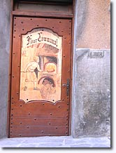 Saint Martin Vesubie - Door