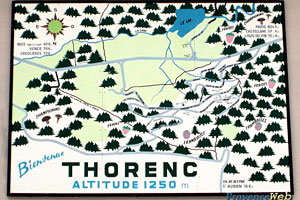Thorenc, plan