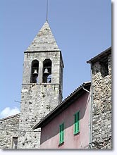 Utelle, bell-tower