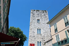 Vence, tower