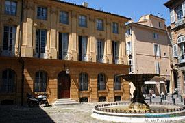 Aix en Provence, fontaine
