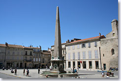 Arles, Republique square