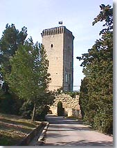 Barbentane, tower