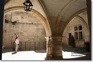 Les Baux de Provence - Hotel de Manville