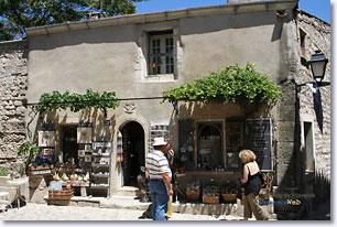 Les Baux de Provence - Brocante
