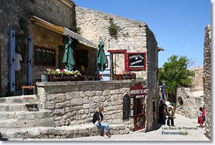 Les Baux de Provence - Terrasse Restaurant