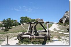 Les Baux de Provence - Catapulte
