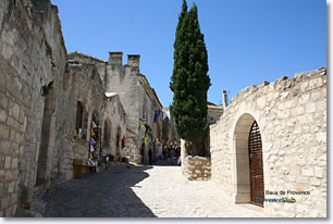 Les Baux de Provence - Rue