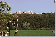 Sainte Victoire mountain, view from Beaurecueil